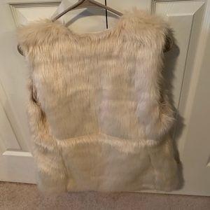 Old Nvay Fur Vest